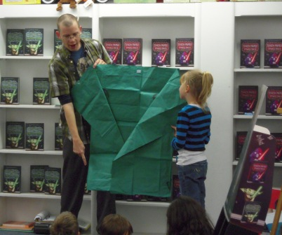 how to make origami kit fisto