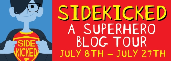 Sidekicked - Blog Tour Banner