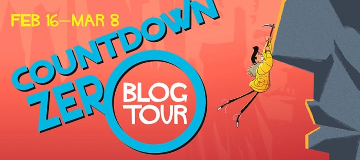 Countdown Zero Blog Tour Banner